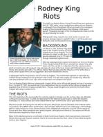 The Rodney King Riots