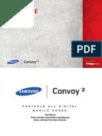 Verizon Wireless Samsung Convoy 2 User Manual