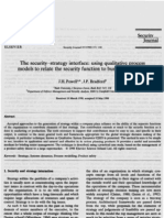 (1998) The security-strategy interface