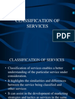 Classification of Services 2010