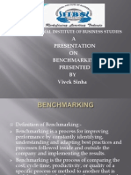 Benchmarking ppt
