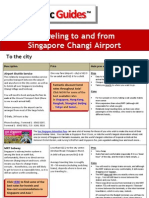 Singapore Airport Transfer Guide
