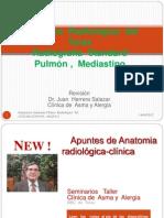 Anatomía   Radiológica  del  Tórax Mediastino -Pulmón