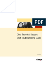 Citrix Support Troubleshooting Guide