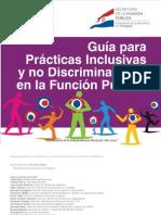 Guía para Prácticas Inclusivas y no Discriminatorias en la Función Pública - SECRETARIA DE LA FUNCION PUBLICA - PRESIDENCIA DE LA REPUBLICA DEL PARAGUAY - PortalGuarani