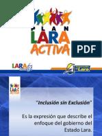 Presentación Plan Lara Activa
