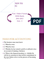 Introduction to Accounting (1)