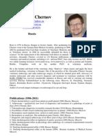Alex Chernov Completo