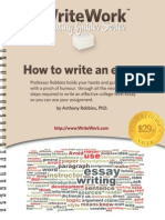 WriteWork How to Write an Essay