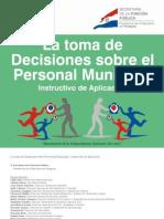 La Toma de Desiciones Sobre El Personal de La Municipal - Secretaria de La Funcion Publica - Presidencia de La Republica Del Paraguay - PortalGuarani