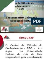 Apresentacao CDC Calouros Setembro