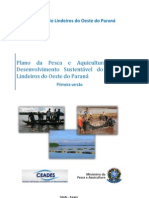 Plano Da Pesca e Aquicultura