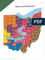 Ohio Redistricting Map