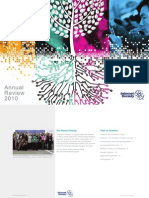 Internet Society 2010 Annual Review