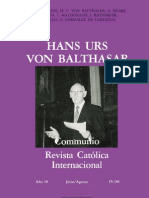 Communio_88_4 Hans Urs Von Bathasar