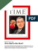 Portugal e Salazar Time Magazine 1946