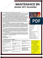 Sept 2011 Newsletter