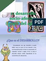 El desarrollo socio-afectivo (teoría del apego)