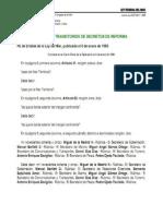 Fe de Erratas - Ley Federal Del Mar