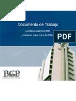 La Inflación durante el 2005  - Porqué es mayor que la del 2004 - BCP - PortalGuarani