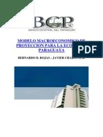 Modelo de Proyección de la Inflación - BCP - PortalGuarani