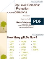 Wesfacca MBS Power Point in New TLDs Revised Sept 13 11