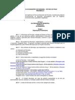 Lei Organica do Município de Parnaíba