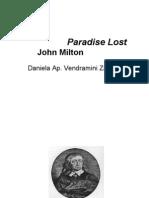 Milton Lost Paradise