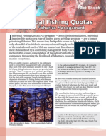 Individual Fishing Quotas - A Failure in Fisheries Managementt