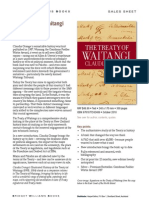 The Treaty of Waitangi (9781877242489) - BWB Sales Sheet