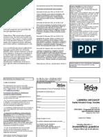 Scheda Iscrizione e Volantino Corso Filosofia Infoshop