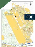 Mapa la zona del aeropuerto del Gobierno Regional Del Callao