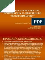 Cooperación al desarrollo