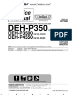 DEH-P350,3500,4550
