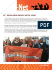 MAG Net Annual Report 2011