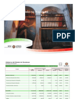 Avance de Gestión Financiera 2011 11 Gasto Público No Programable