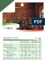 Avance de Gestión Financiera 2011 14 Ramo General 33