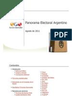 Informe Panorama Electoral 2011