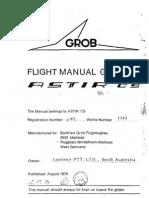 Grob G102 Astir Flight Manual