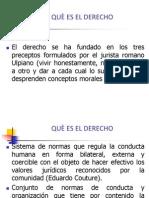 PRIMERA CLASE CONSTITUCIN