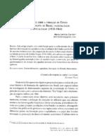 Notas Sobre o Estado Capitalist A No Brasil