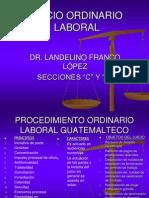 Diapositivas Derecho Laboral Procesal