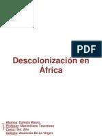 La descolonización en África