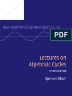 Algebraic Cycles