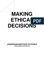 Making Ethical Decisions