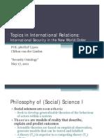 L#1 - 05.17.2011 - Security Ontology