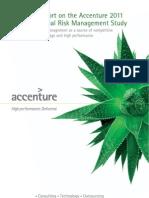 Accenture Global Risk Management Study 2011