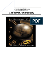 Anthony (Tony) Robbins - Rapid Planning Method - Time Management