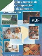 Análisis de alimentos FAO
