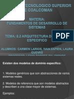 6.2 Arquitectura de Dominos